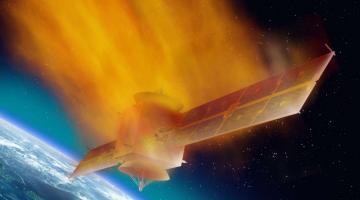 Первая китайская космическая лаборатория падает