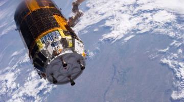 Эксперимент по очистке орбиты от космического мусора начался