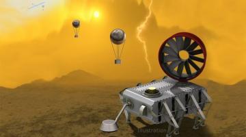 AREE: космический аппарат для исследования поверхности Венеры