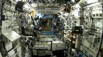 На Международной космической станции невероятно шумно