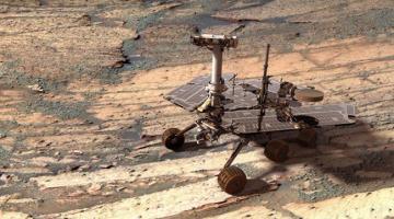 Марсоход «Оппортьюнити»: 90-дневная миссия длиной в 10 лет