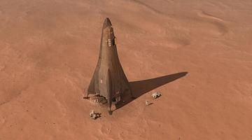 Компания Lockheed Martin хочет создать марсианский посадочный модуль