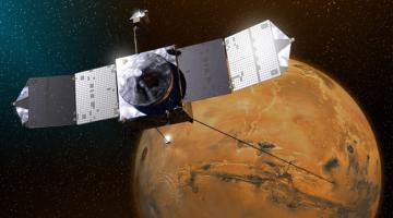 Космический аппарат Maven вышел на орбиту Марса