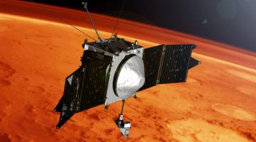 Миссия MAVEN: первые результаты по исследованию атмосферы Марса