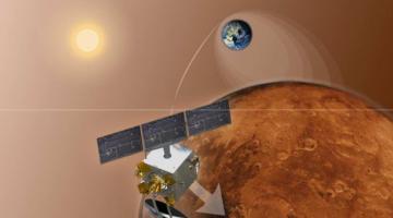 Индийский космический аппарат достиг орбиты Марса