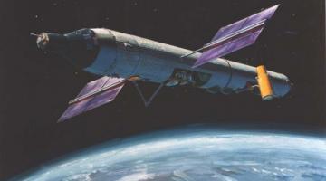 США рассекретили старые планы по созданию военной космической станции