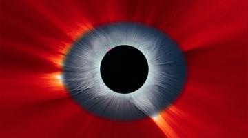 #фото дня | Солнечное затмение, которое выглядит как Око Саурона