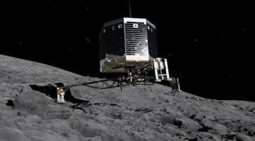 Ученые подтвердили наличие органики на комете 67P/Чурюмова — Герасименко