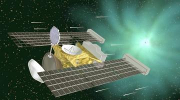 Получена частичка космической пыли времен формирования Солнечной системы