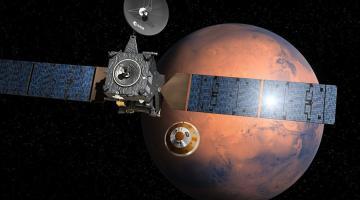 Марсианский орбитальный зонд Trace Gas Orbiter приступил к своей научной миссии