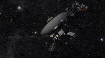 Спустя 37 лет простоя двигатели «Вояджера-1» вновь ожили