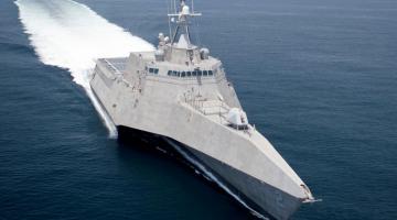 Боевой эсминец США осмотрел спорный остров в Южно-Китайском море