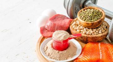 Спортивное питание: особенности приема растительного белка