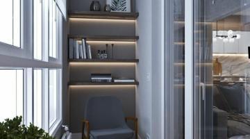 Металлопластиковое остекление – как сэкономить место на балконе?